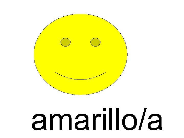 amarillo/a