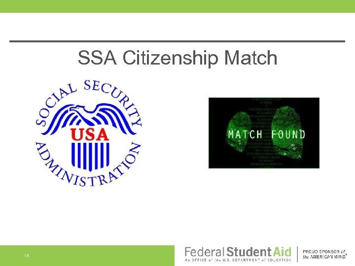 SSA Citizenship Match 18