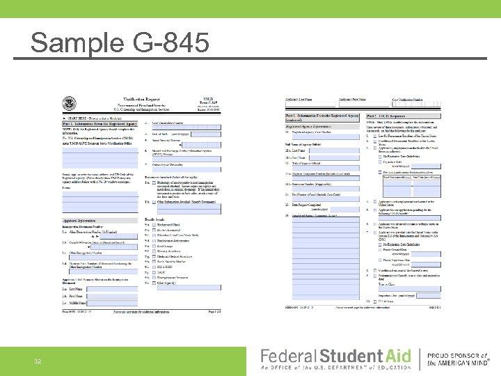 Sample G-845 32