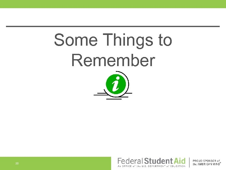 Some Things to Remember 35