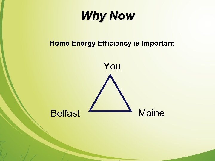 Why Now Home Energy Efficiency is Important You Belfast Maine