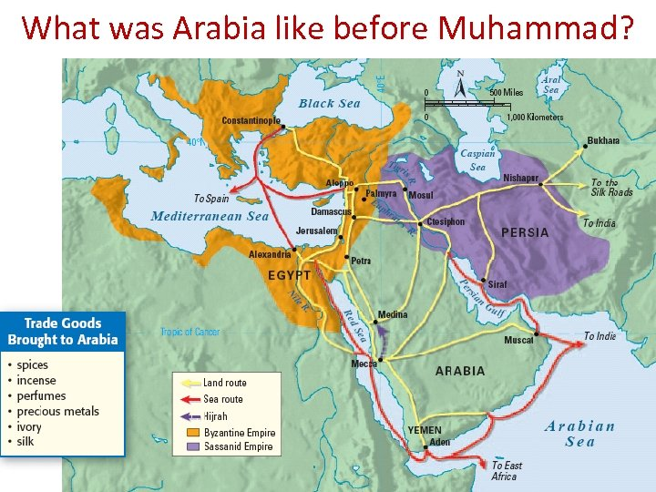 What was Arabia like before Muhammad?