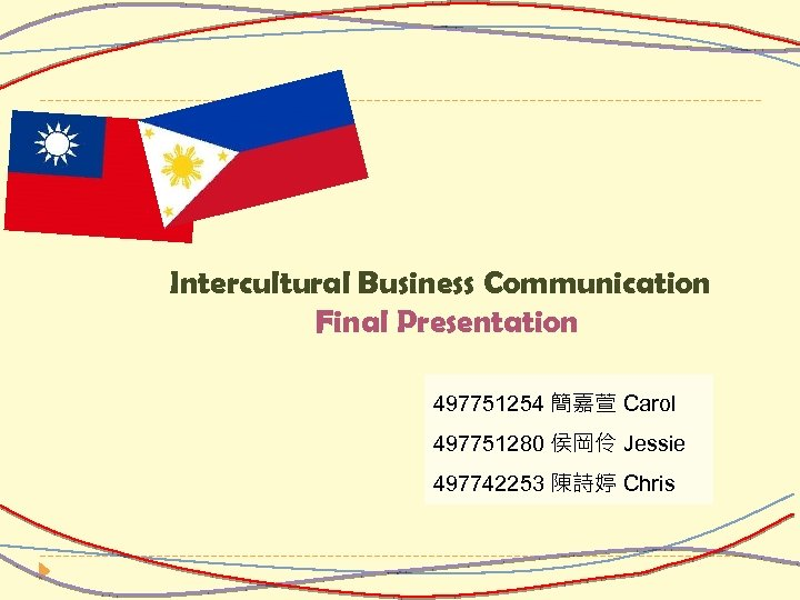 Intercultural Business Communication Final Presentation