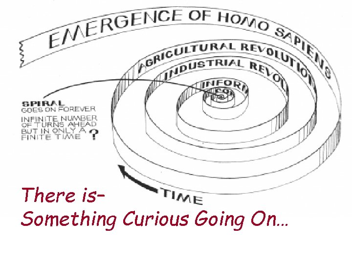 There is– Something Curious Going On…