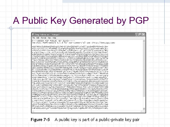 A Public Key Generated by PGP