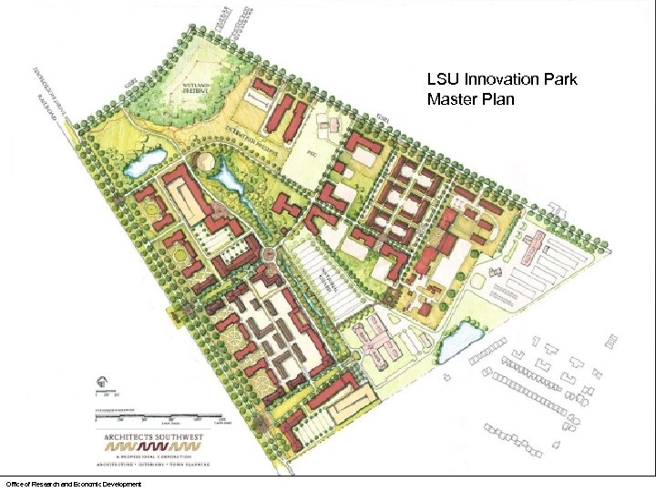 LSU Innovation Park Master Plan Office of Research and Economic Development