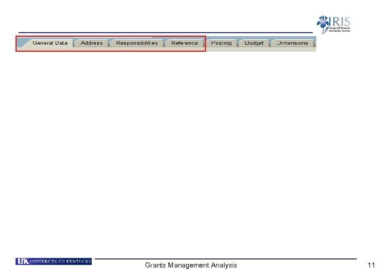 Grants Management Analysis 11