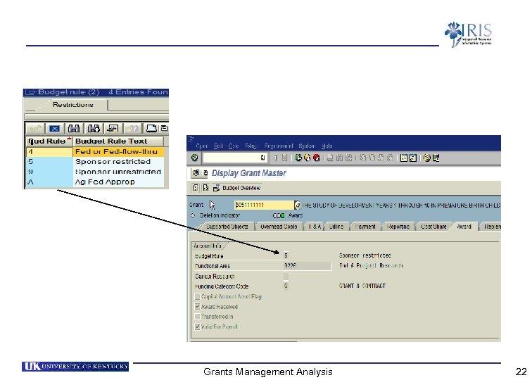Grants Management Analysis 22