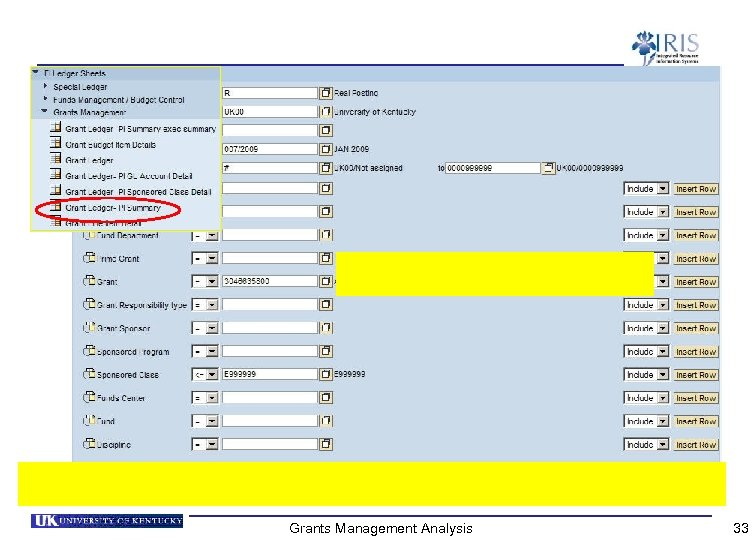 Grants Management Analysis 33