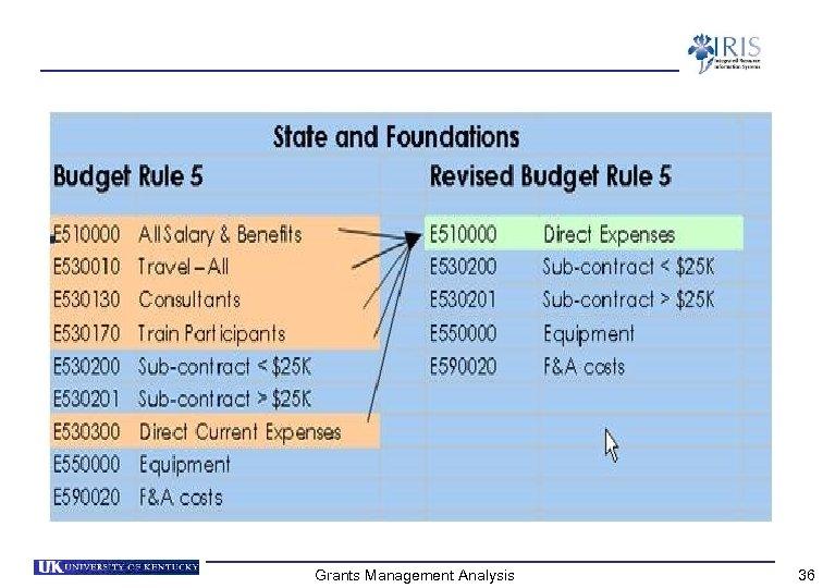 Grants Management Analysis 36