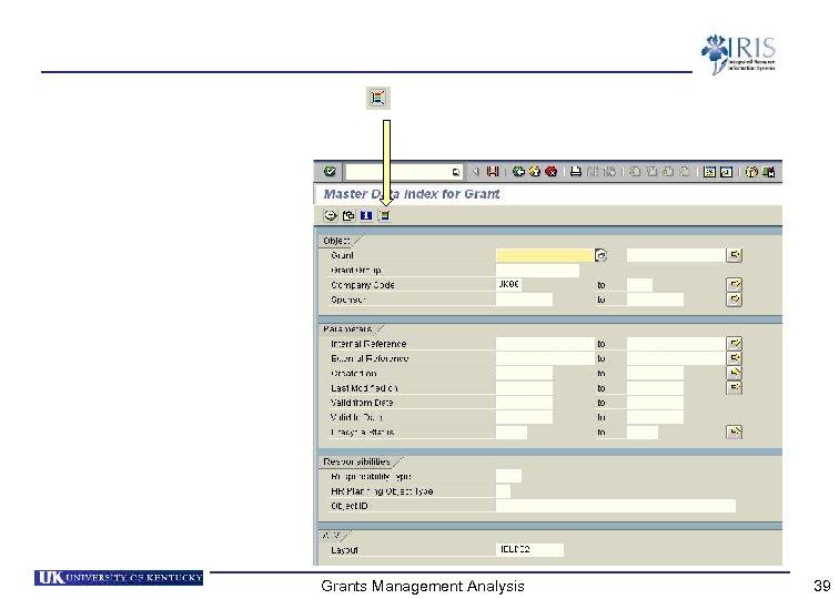 Grants Management Analysis 39