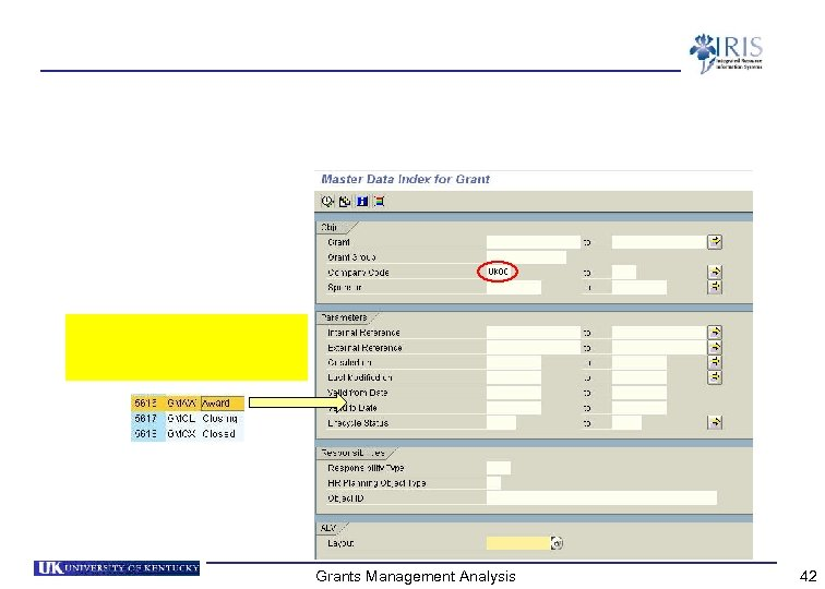 Grants Management Analysis 42
