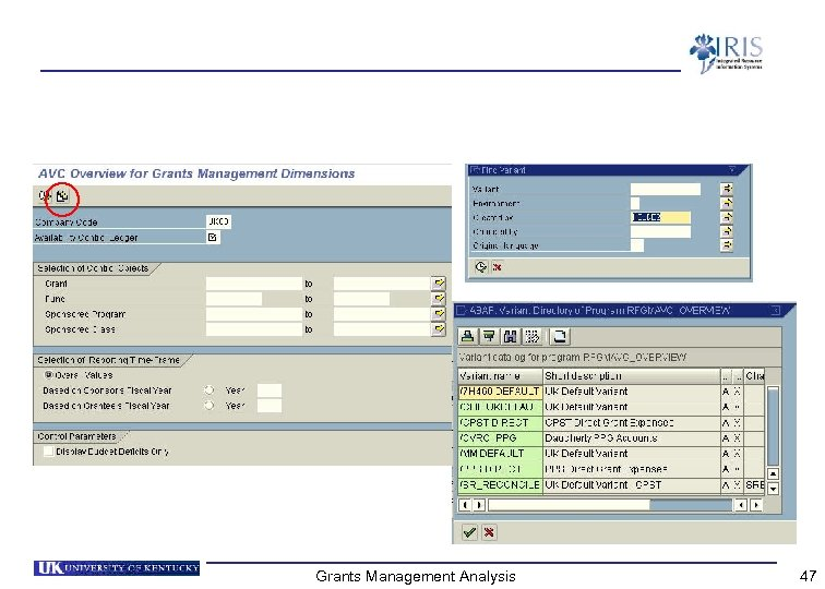 Grants Management Analysis 47