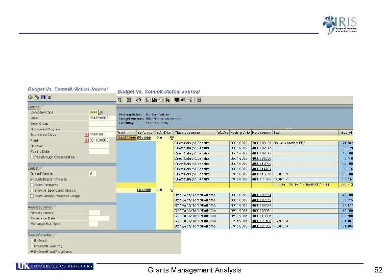 Grants Management Analysis 52