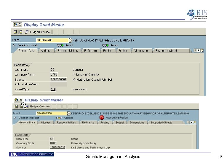 Grants Management Analysis 9