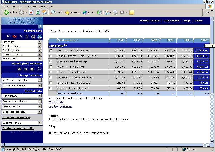 Analysis Tools – Rank Data