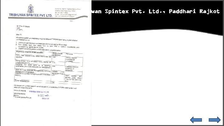 Tribhuwan Spintex Pvt. Ltd. , Paddhari Rajkot