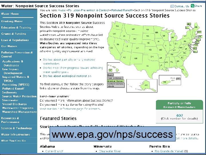 www. epa. gov/nps/success