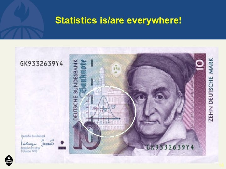 Statistics is/are everywhere! 18