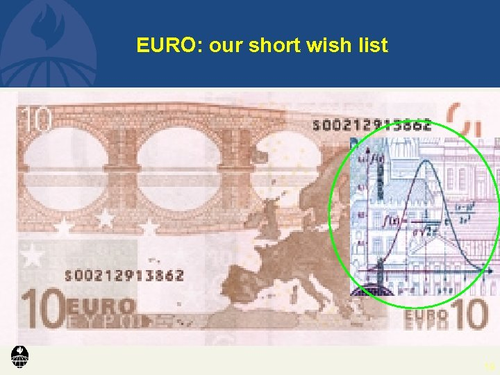 EURO: our short wish list 19