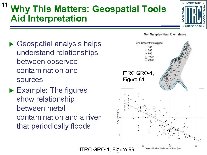 11 Why This Matters: Geospatial Tools Aid Interpretation Geospatial analysis helps understand relationships between