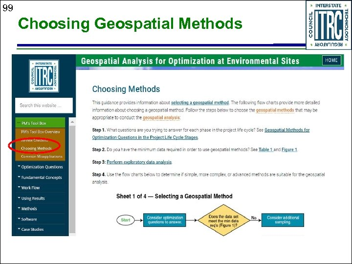 99 Choosing Geospatial Methods