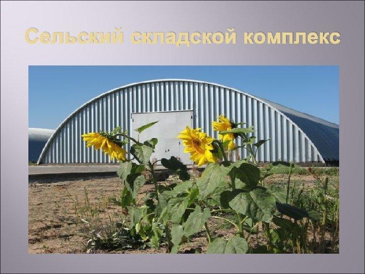 Сельский складской комплекс