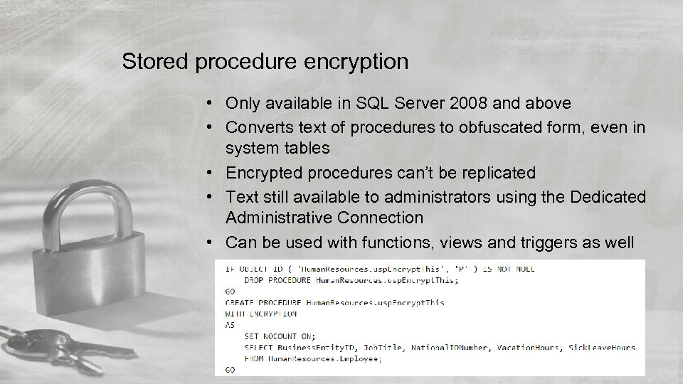 a description of encryption as the process of disguising information by transforming plain text into Information from plain text into cipher or code in non-technical usage, a 'cipher' is the same thing as a 'code'  result shows encryption process generates two various outputs viz encrypted text and space delimited integer values of location within the plain text.
