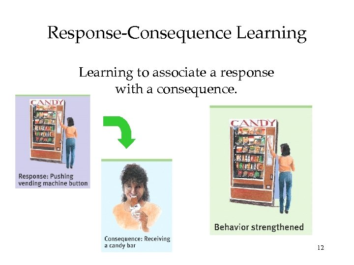 Response-Consequence Learning to associate a response with a consequence. 12