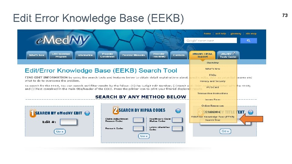 Edit Error Knowledge Base (EEKB) 73