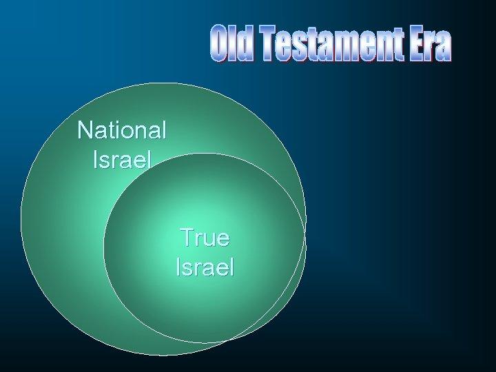 National Israel True Israel