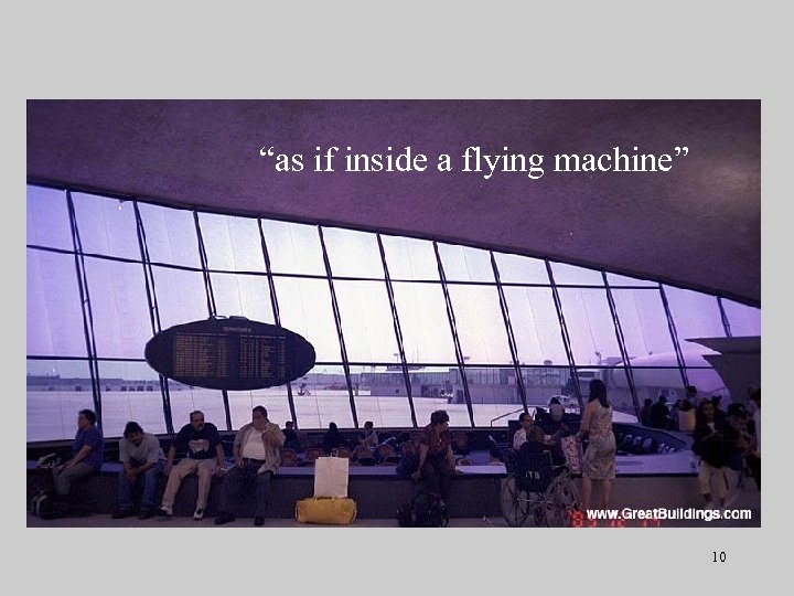 """""""as if inside a flying machine"""" 10"""