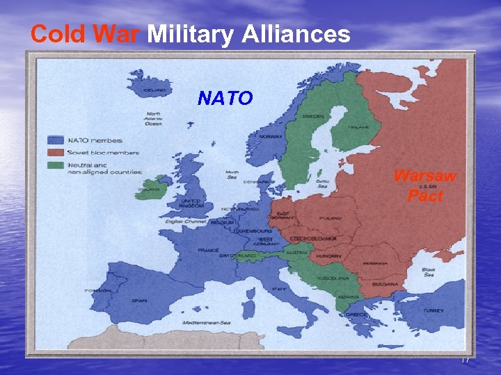 Cold War Military Alliances NATO Warsaw Pact 17