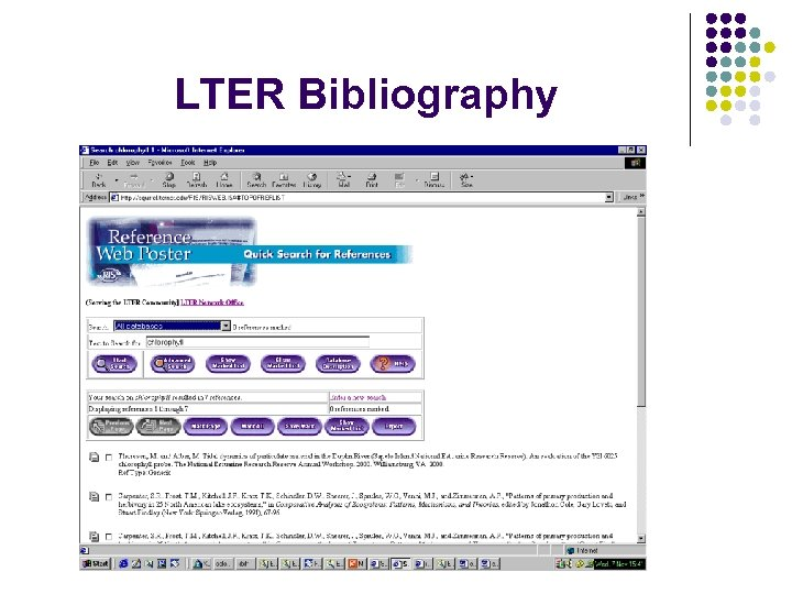 LTER Bibliography