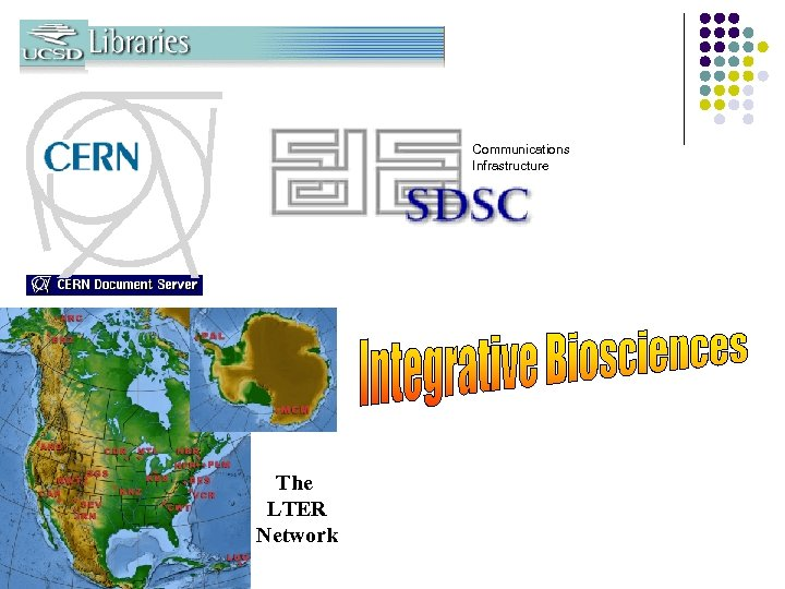 Communications Infrastructure The LTER Network