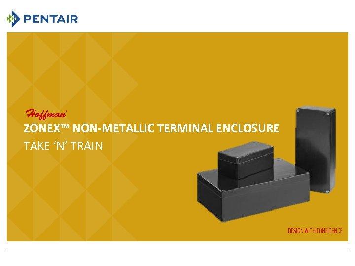 ZONEX™ NON-METALLIC TERMINAL ENCLOSURE TAKE 'N' TRAIN