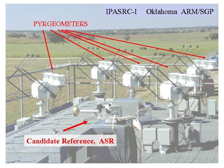 IPASRC-I PYRGEOMETERS Candidate Reference, ASR Oklahoma ARM/SGP
