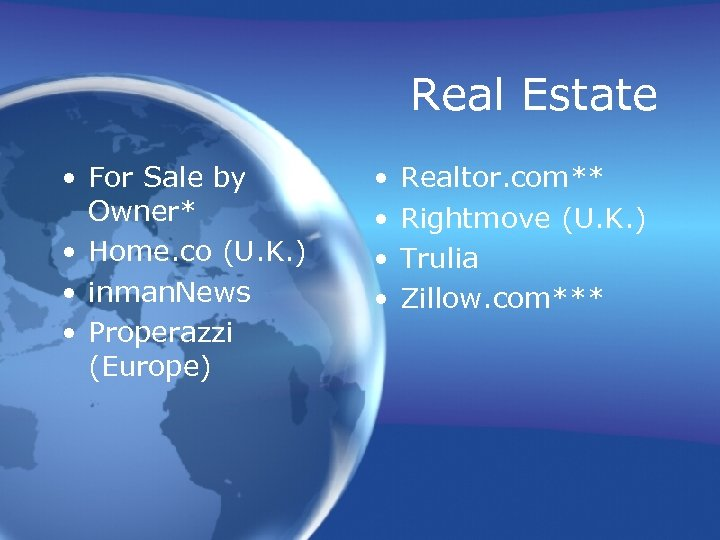 Real Estate • For Sale by Owner* • Home. co (U. K. ) •