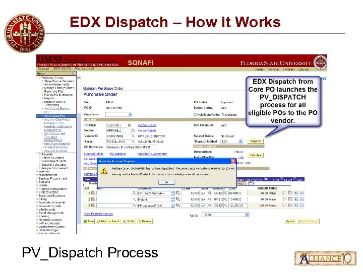 EDX Dispatch – How it Works PV_Dispatch Process