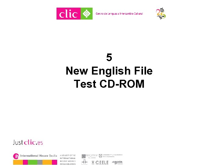 5 New English File Test CD-ROM