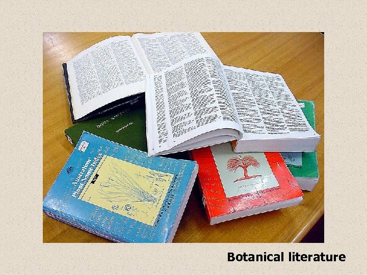 Botanical literature