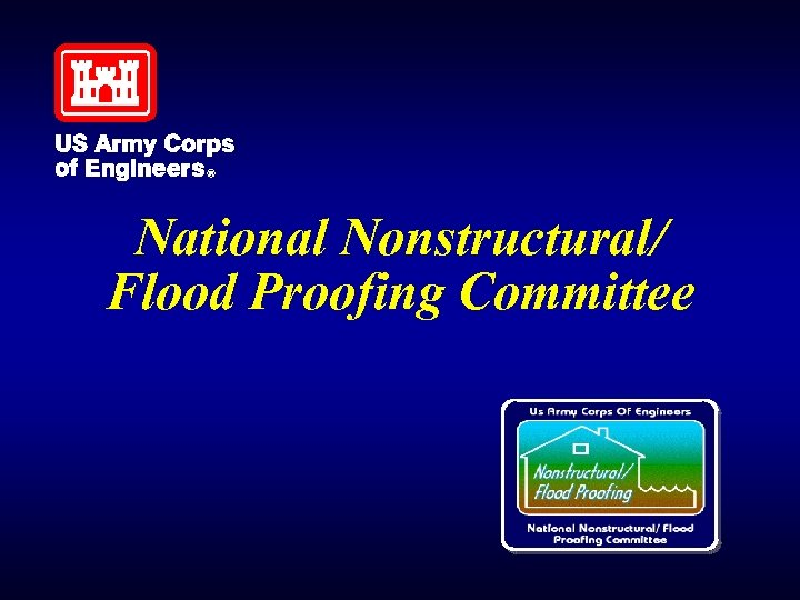 National Nonstructural/ Flood Proofing Committee