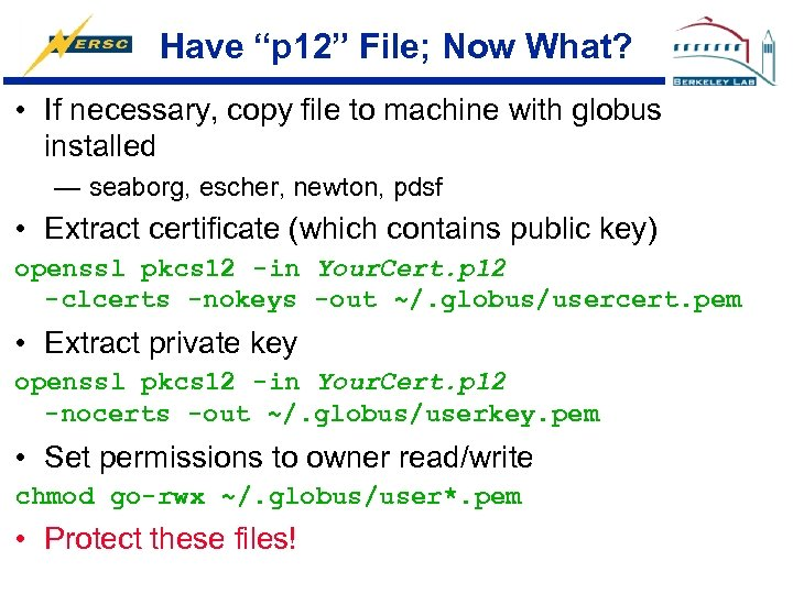 """Have """"p 12"""" File; Now What? • If necessary, copy file to machine with"""