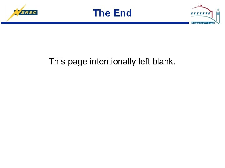 The End This page intentionally left blank.
