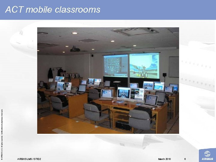© AIRBUS S. All rights reserved. Confidential and proprietary document. ACT mobile classrooms AIRBUS