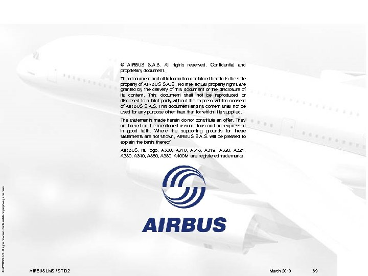 © AIRBUS S. A. S. All rights reserved. Confidential and proprietary document. This document