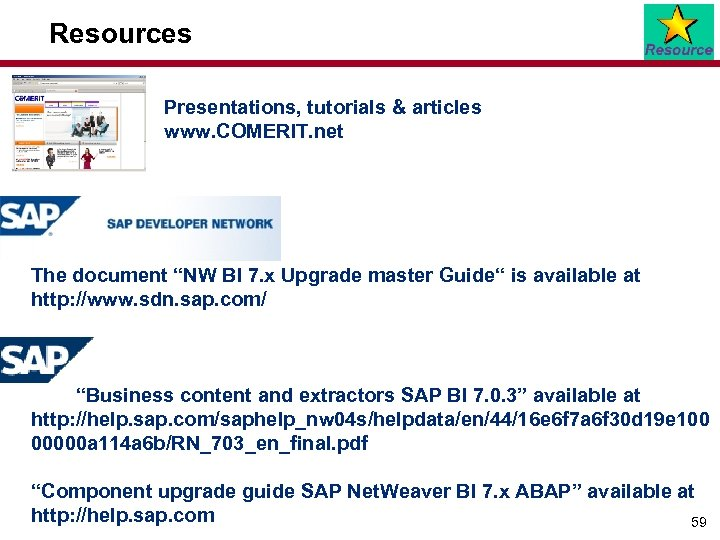 Best practices for your SAP Net Weaver Business