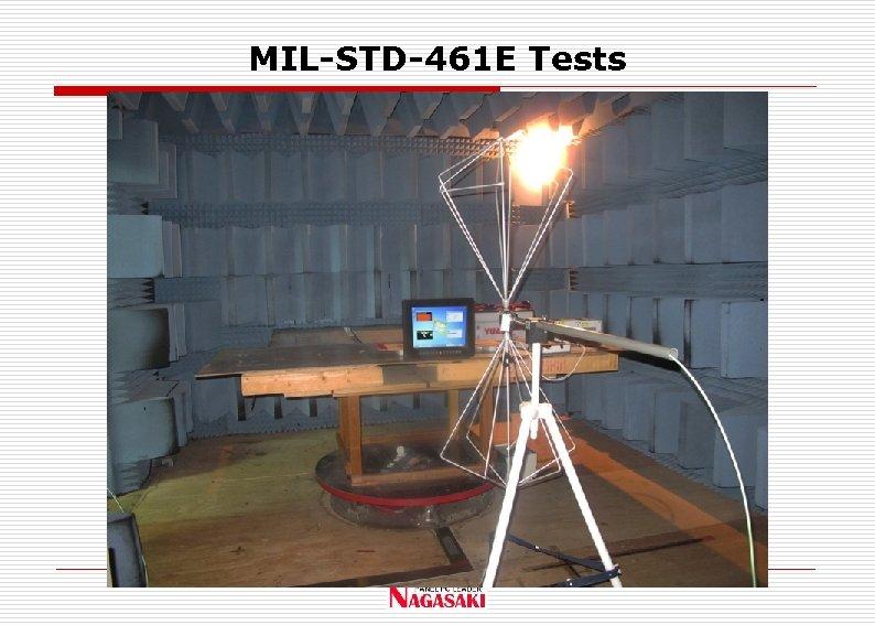 MIL-STD-461 E Tests