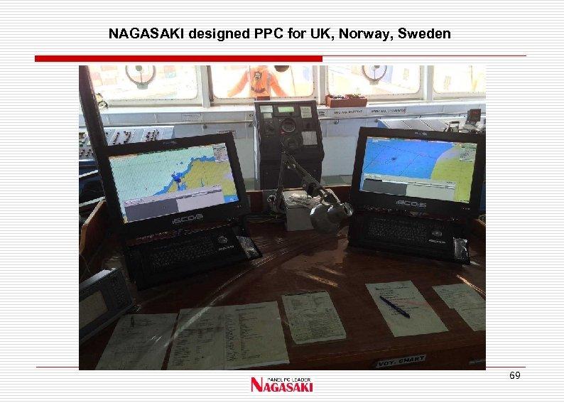 NAGASAKI designed PPC for UK, Norway, Sweden 69