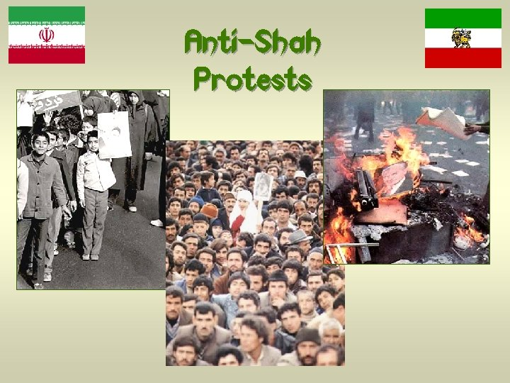 Anti-Shah Protests